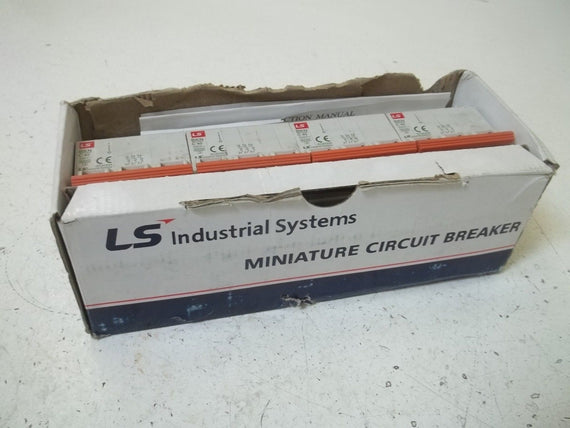 LOT OF 4 LS INDUSTRIAL  BKNC40A3P CIRCUIT BREAKER(DAMAGE BOX)*NEW IN BOX*