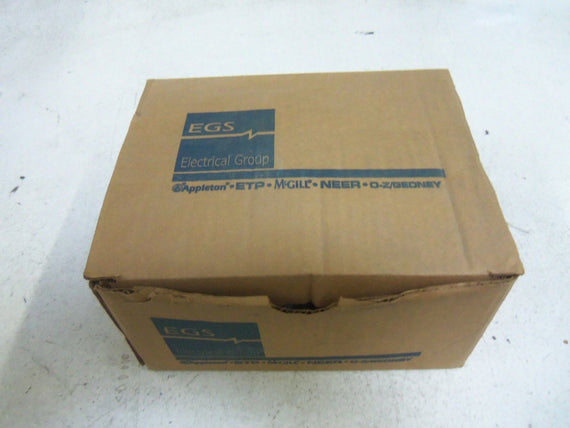 LOT OF 5 EGS EY-100 CONDUIT *NEW IN BOX*