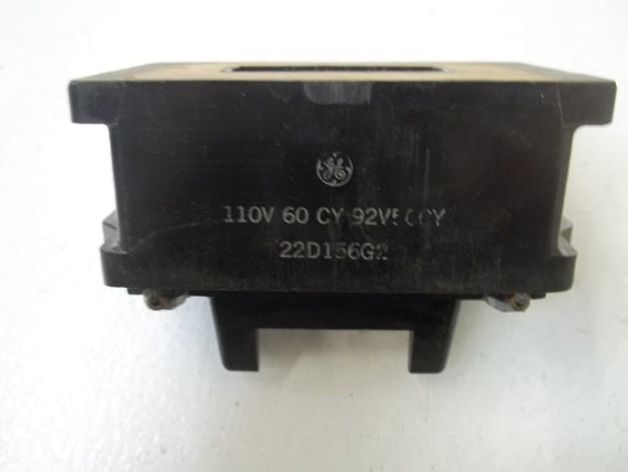GENERAL ELECTRIC 22D156G2110V COIL 110V *USED*