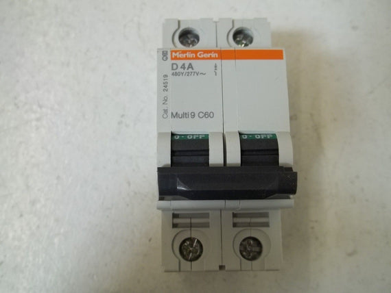 LOT OF 5 SQUARE D 24519 CIRCUIT BREAKER D4A *NEW IN BOX*