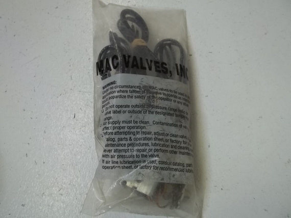MAC VALVE INC. D1-61AA CABLES *NEW IN A BAG*