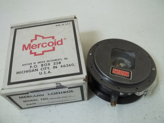 MERCOID DAW33-152-4 PRESSURE SWITCH *NEW IN BOX*