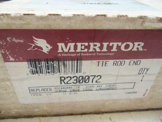 MERITOR R230072 TIE ROD END *NEW IN BOX*