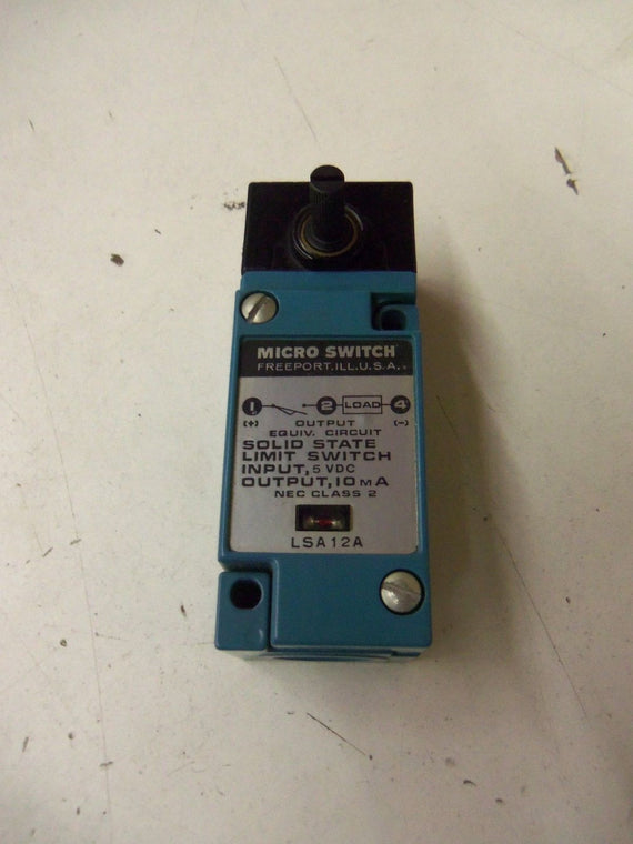 MICROSWITCH LSA12A *USED*