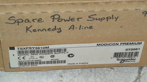 MODICON TSXPSY3610M POWER SUPPLY *NEW IN BOX*