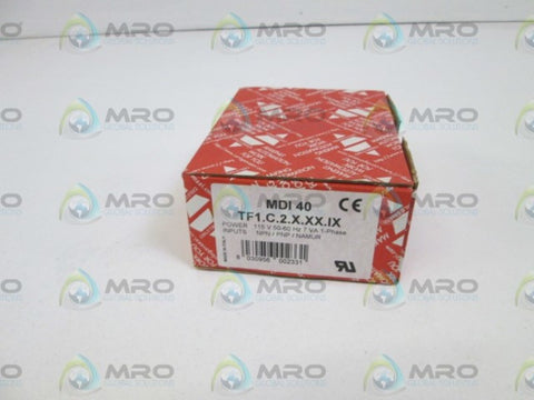 CARLO GAVAZZI 4 DIGIT CONTROLLER MDI40 TF1.C.2.X.XX.IX * NEW IN BOX *