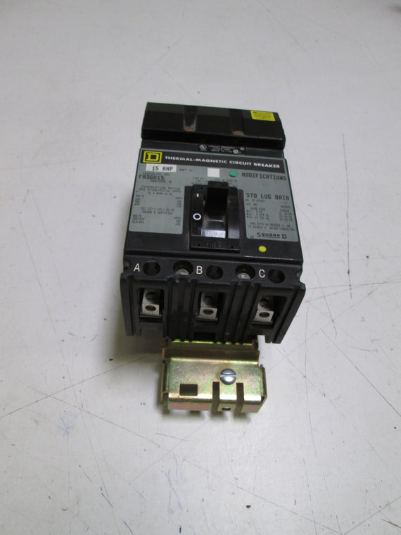 SQUARE D CRICUIT BREAKER FA36015 *NEW IN BOX*