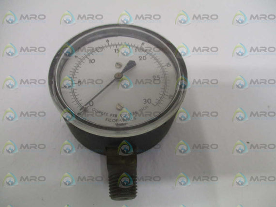 MARSH BELLOFRAM G24501 PRESSURE GAUGE 0-30 OZSI *NEW IN BOX*
