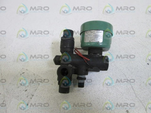 ASCO (BLACK) 110/120V  VALVE 8302C27F * USED *