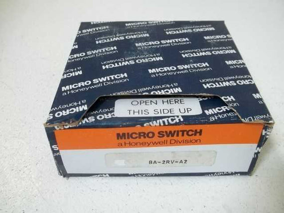 LOT OF 4 MICROSWITCH BA-2RV-A2 SNAP ACTION SWITCH (BLUE BOX) *NEW IN BOX*