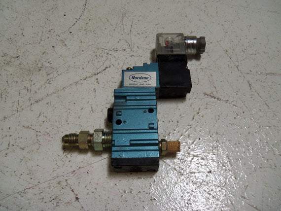 NORDSON 305748 SOLENOID VALVE *USED*