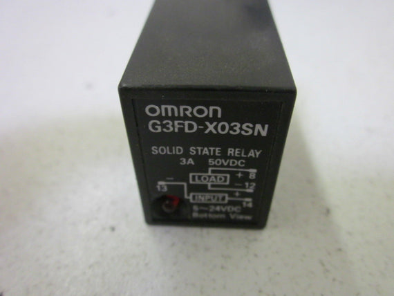 OMRON G3FD-X03SN *NEW  OUT OF A BOX*