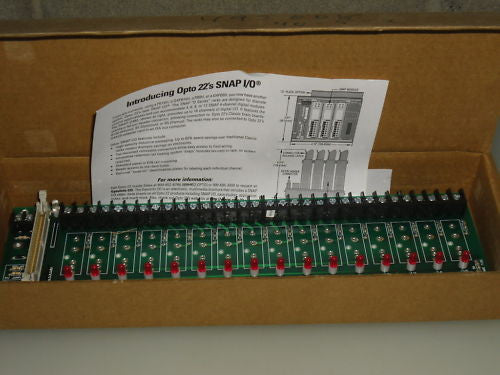 OPTO22 SNAP I/O PBC6H *NEW*