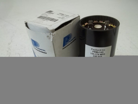 PACKARD INC. PRMJ145 START CAPACITOR *NEW IN BOX*