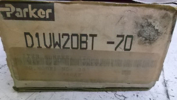 PARKER D1VW20BT-70 VALVE *NEW IN BOX*