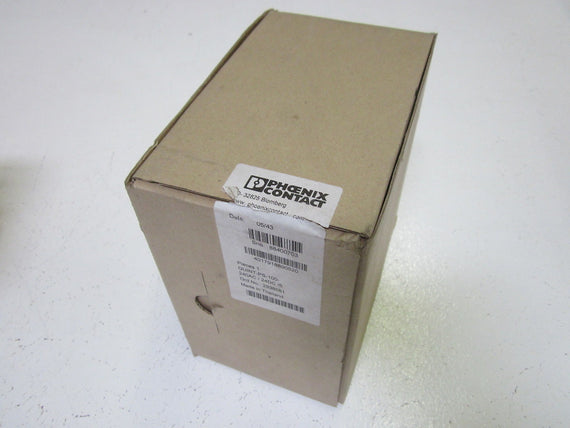 PHOENIX CONTACT QUINT-PS-100-240AC/24DC/5 POWER SUPPLY (AS PIC.) *NEW IN BOX*