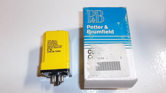 PORTER AND BRUMFIELD TIME DELAY CDB-38-7006 *USED*