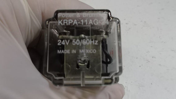 POTTER & BRUMFIELD KRPA-11AG-24 RELAY 24V *NEW IN BOX*