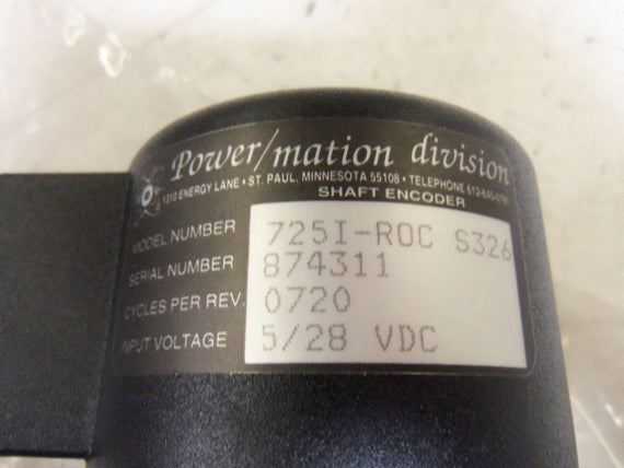 POWER MATION 725I-ROC *NEW NO BOX*