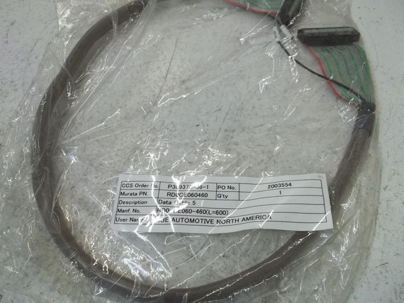 RD0CE060460 DATA CABLE 5 *NEW NO BOX*