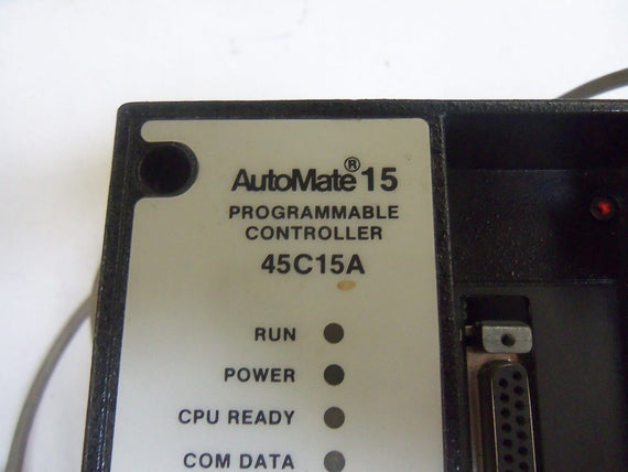 RELIANCE ELECTRIC AUTOMATE 45C15A PROGRAMMABLE CONTROLLER *USED*