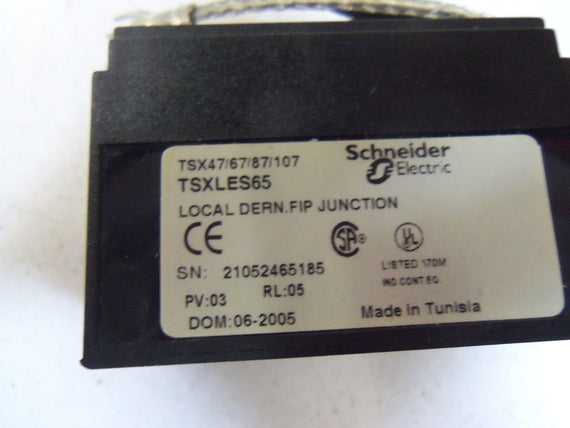 SCHNEIDER ELECTRIC TSXLES65 *NEW IN BOX*