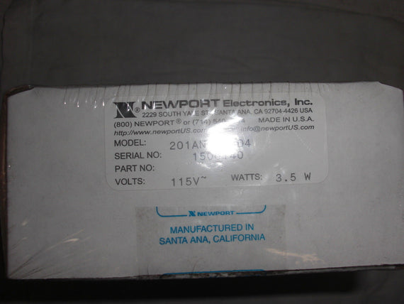 NEWPORT ELECTRONICS 201AN-3 D4 *FACTORY SEALED*