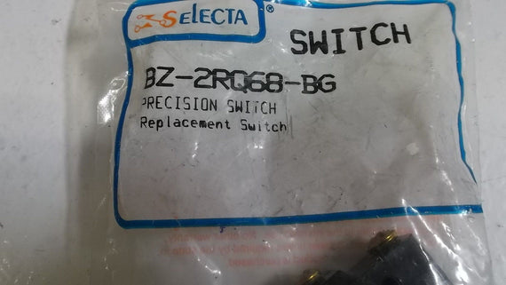 SELECTA SWITCH BZ2RQ68BG *NEW IN FACTORY BAG*