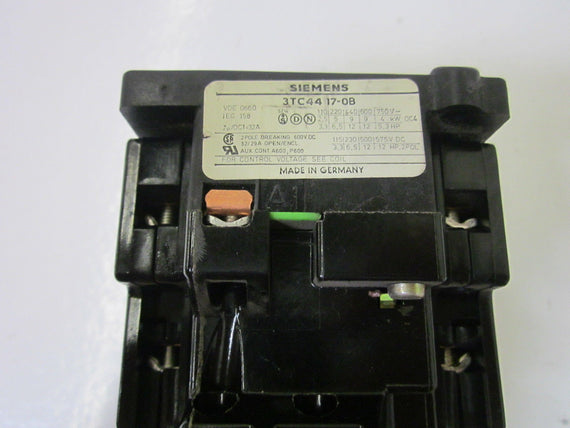 SIEMENS 3TC4417-0B 58V *USED*