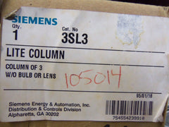 SIEMENS LIFE COLUMN 3SL3 *NEW IN BOX*
