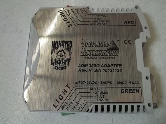 SPRECTRUM ILLUMINATION LDM350/2 ADAPTER *NEW NO BOX*