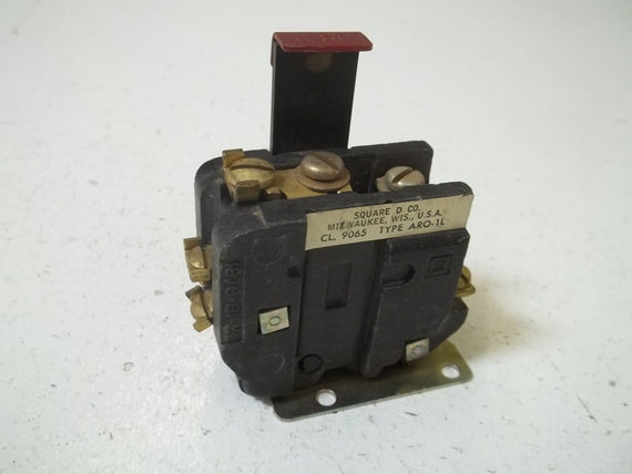SQUARE D 9065-ARO-1L OVERLOAD RELAY *USED*