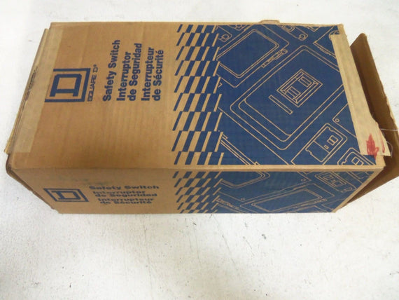 SQUARE D CH362AWK HEAVY DUTY SAFETY SWITCH *NEW IN BOX*