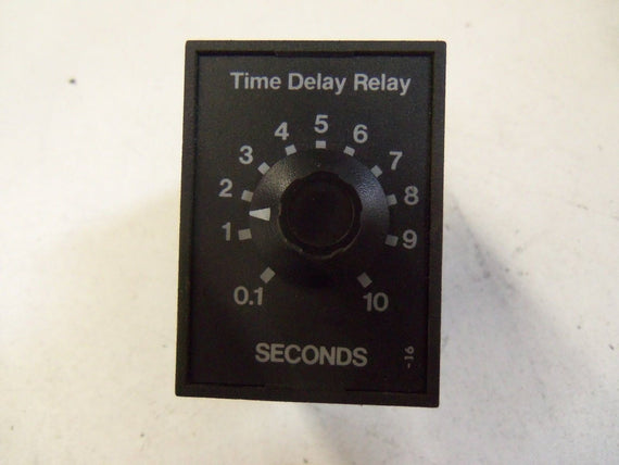 SSAC TIME DELAY RELAY TRS120A4X10 *USED*
