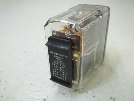 STRUTHERS-DUNN 219BBXPLM RELAY 120VAC *USED*