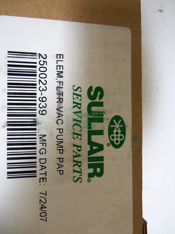 SULLAIR 250023-939 *NEW IN BOX*
