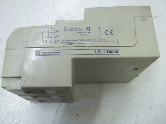 TELELMECANIQUE LB1 LD03M55 *USED*