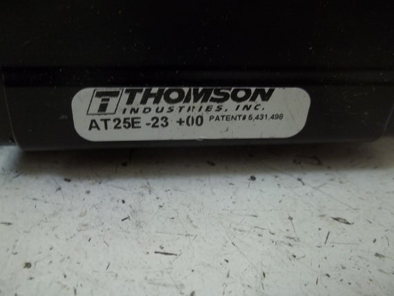 "THOMSON AT25E-23+00  LINEAR RAIL 7-3/4"" LENGTH *NEW NO BOX*"