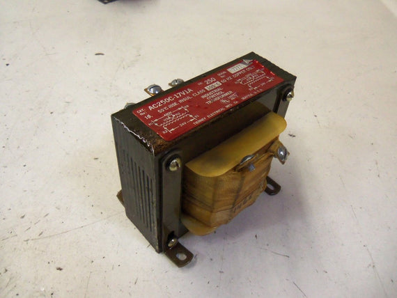 TIERNEY ELECTRICAL MFG. CO. AC250C-17V1A *NEW NO BOX*