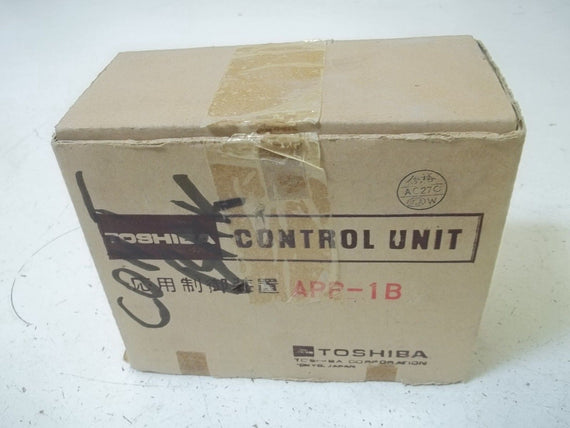 TOSHIBA APP-1B AUX CONTROL UNIT PHASE 1 SOURCE 115V-60HZ *NEW IN BOX*