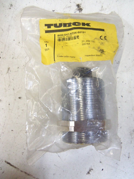 TURCK Bi20-G47-RZ3X-B2131 PROXIMITY SENSOR *NEW IN FACTORY BAG*