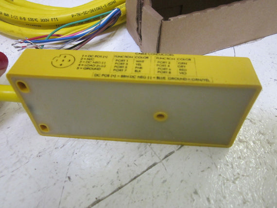 TURCK VB 80-5 RECEPTACLE MULTIBOX W/ CABLE *NEW IN BOX*