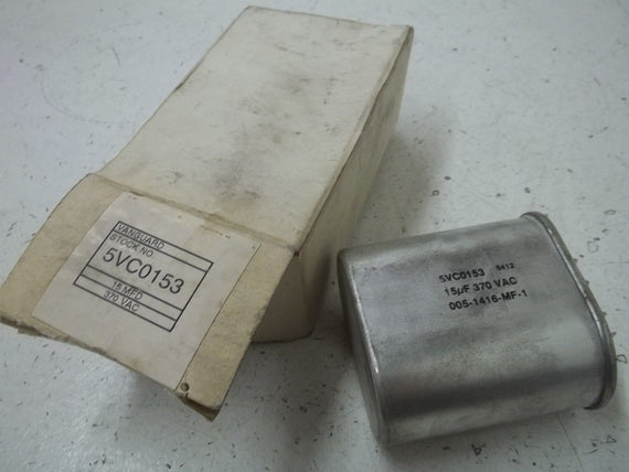 VANGUARD 5VC0153 CAPACITOR *NEW IN BOX*