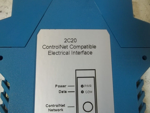 WEED INSTRUMENT 2A20 CONTROLNET COMPATIBLE ELECTRICAL INTERFACE *NEW IN BOX*
