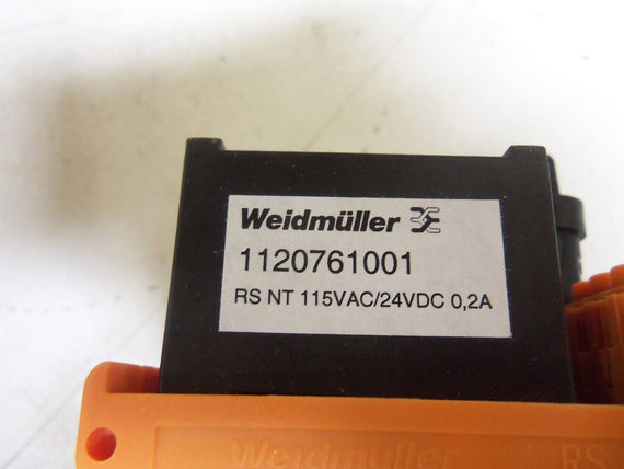 WEIDMULLER 1120761001 *NEW IN BOX*