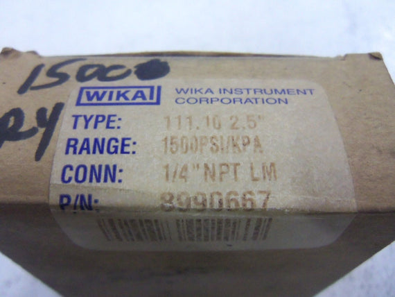 WIKAI 8990667 GAUGE *NEW IN BOX*
