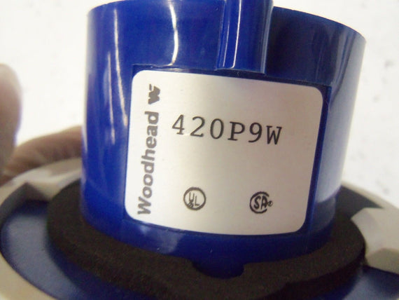 WOODHEAD 420P9W *NEW NO BOX*