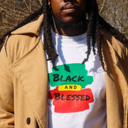 BLACK and BLESSED >>> on White