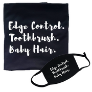 Edge Control. Toothbrush. Baby Hair.
