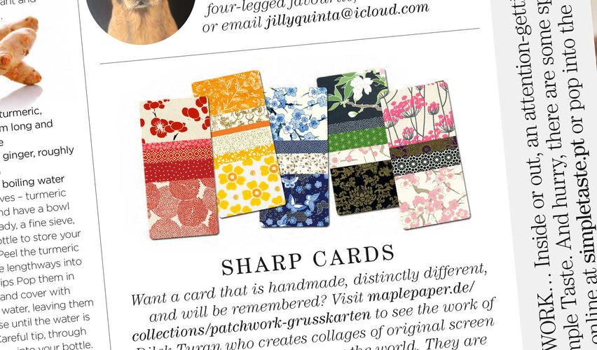 Sharp Cards – elegante Grusskarten